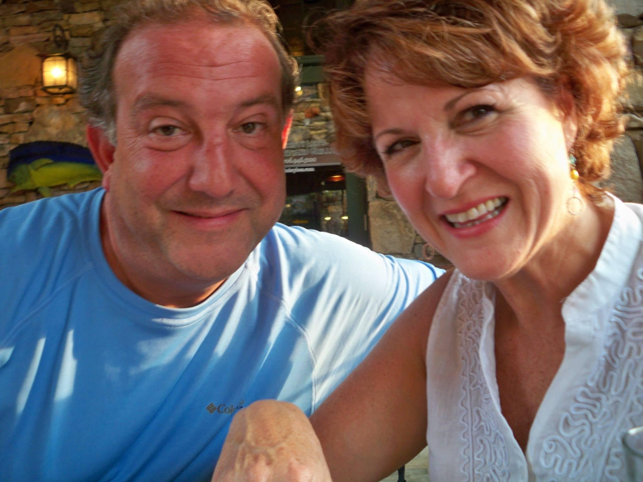 Gill and Linda Mende